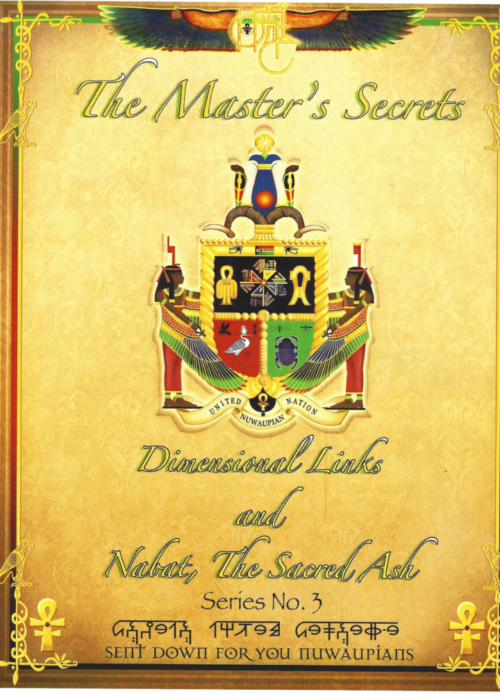 THE MASTER'S SECRETS - Dimensional Links and Nabat