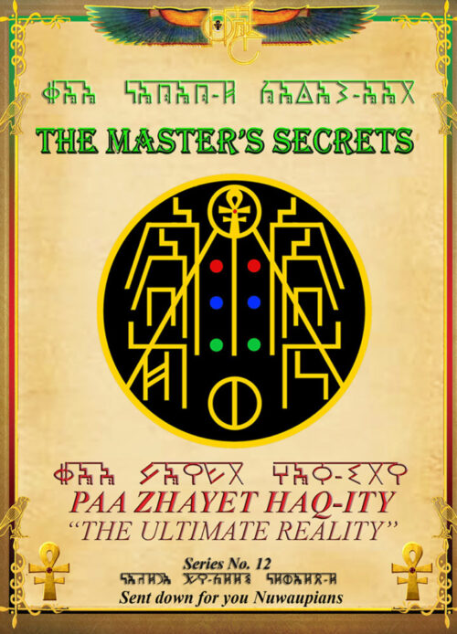 THE MASTER'S SECRETS 12-The -Ultimate Reality