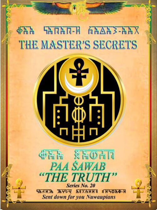 THE MASTER'S SECRETS THE TRUTH